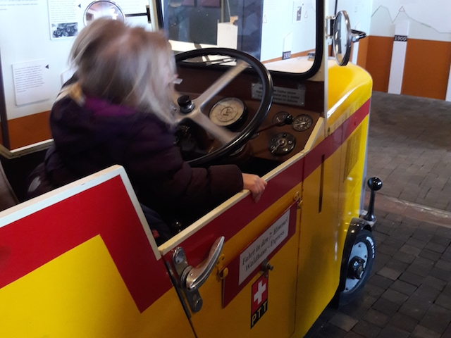 Saurermuseum Arbon, Kindermuseum, Bodenseeausflug, Kinderbereich, Postauto