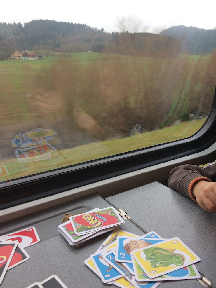 Das Technorama in Winterthur lässt sich wunderbar mit dem öffentlichen Verkehr erreichen.