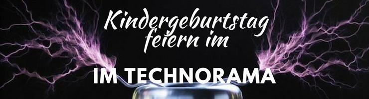 Ein Kindergeburtstag mit Wissenschaft zum anfassen im Technorama Winterthur