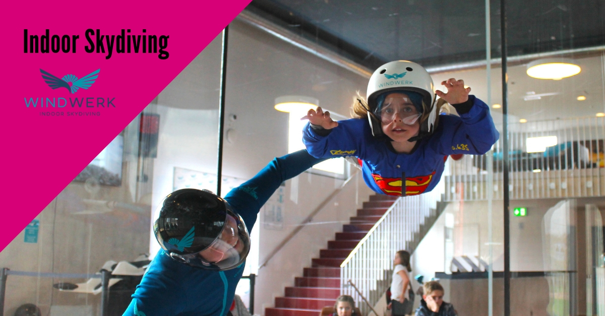 Indoor Skydiving bereits ab 5 Jahren im Windwerk Winterthur Schweiz
