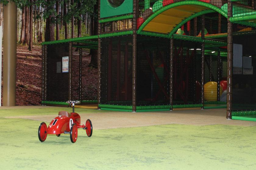 Der Indoor-Spielplatz Bambolino in der Arena St.Gallen ist ein Highlight für die Kleinen