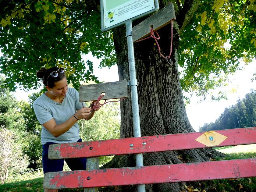 Der Chnobelweg Hemberg im Neckertal hat knifflige Aufgaben zu bieten