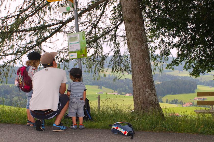Rätselwanderung in Schwellbrunn im Appenzellerland. Ein Familienausflugsziel