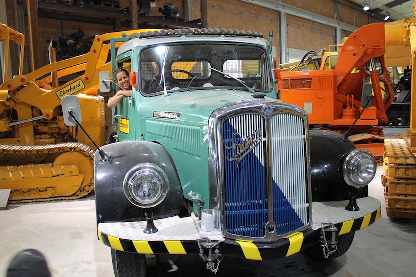 Alte Baumaschinen zum erleben gibt es im Baggermuseum EBIANUM in Fisibach