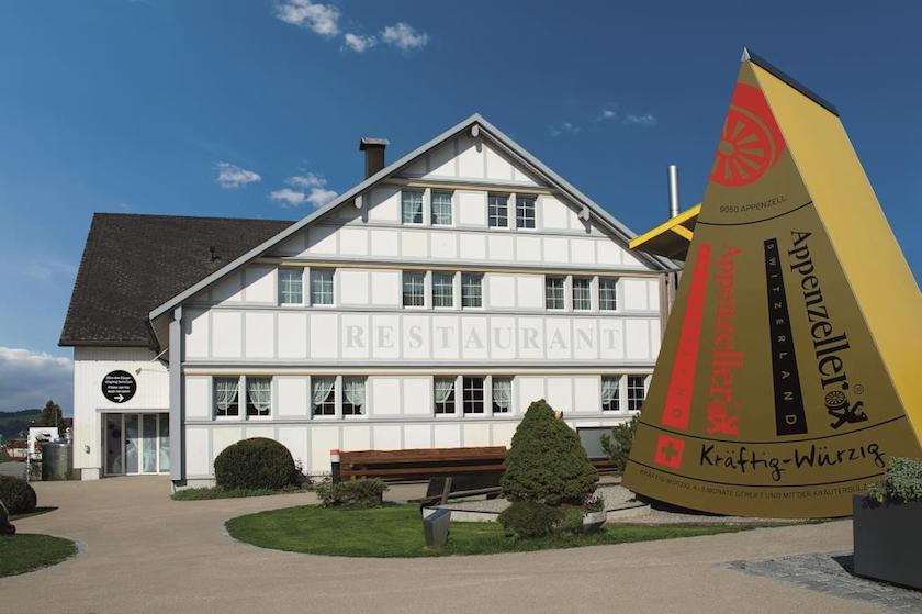 Familienausflugsziel St.Gallen Appenzel, die Schaukäserei in Stein