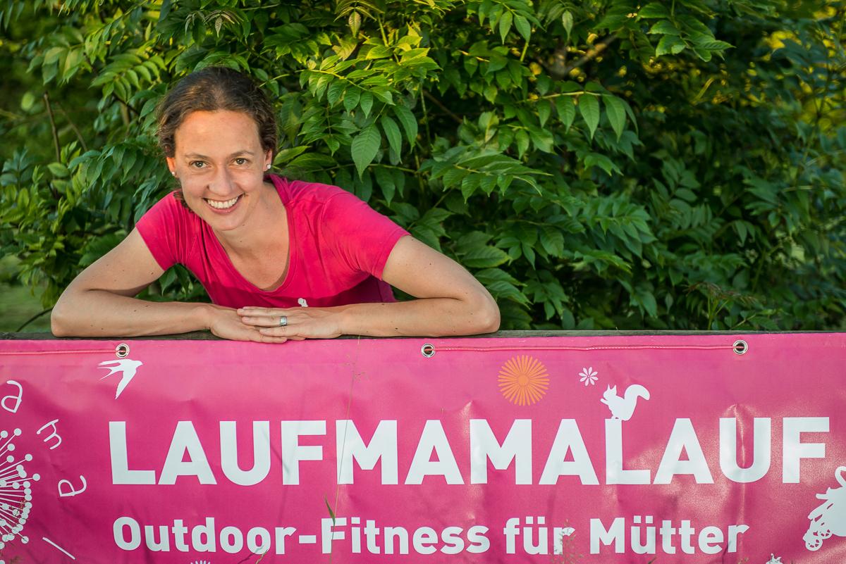 Silke Schlauri von Laufmamalauf, Outdoor-Fitness für Mütter