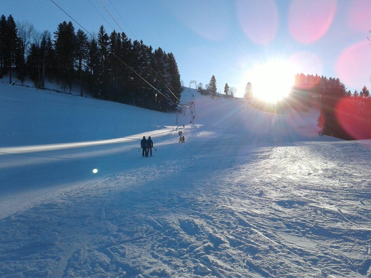 Skilift Oberregg St.Anton Appenzell. Wunderbar für kleine und grosse Kinder.