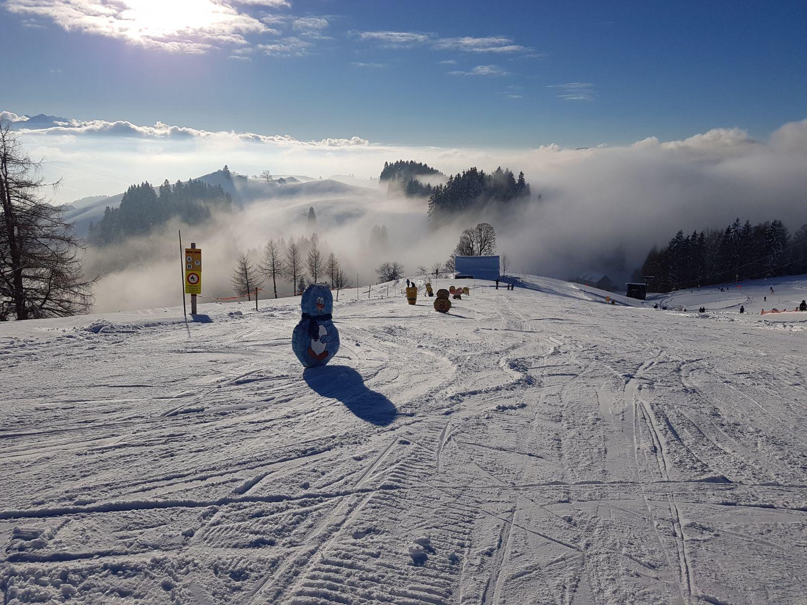 Der Skilift Schwellbrunn ist perfekt für Familien und Skianfänger