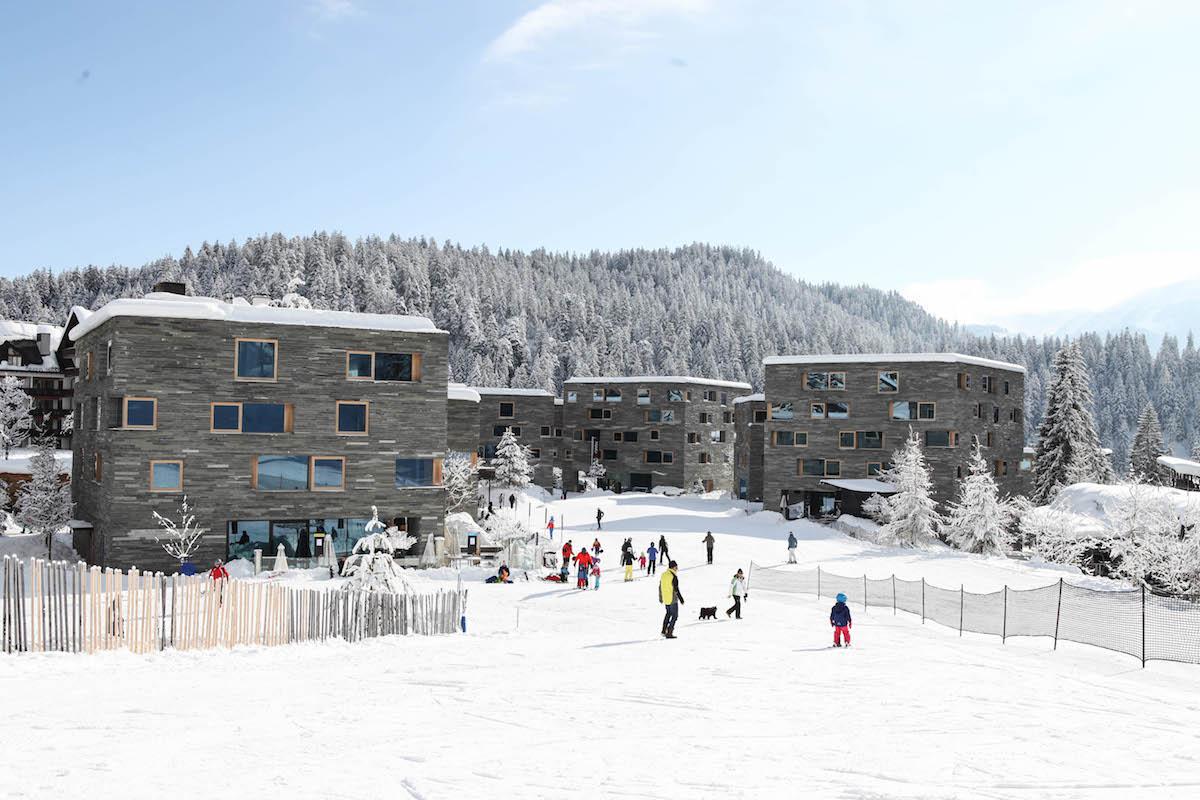 rocksresort Laax - Unterkunft direkt an der Skipiste und der Skischule