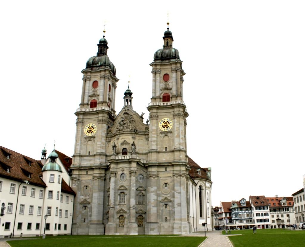 Der Stiftsbezirk St.Gallen mit Stiftskirche, Kloster und Stiftsbibliothek
