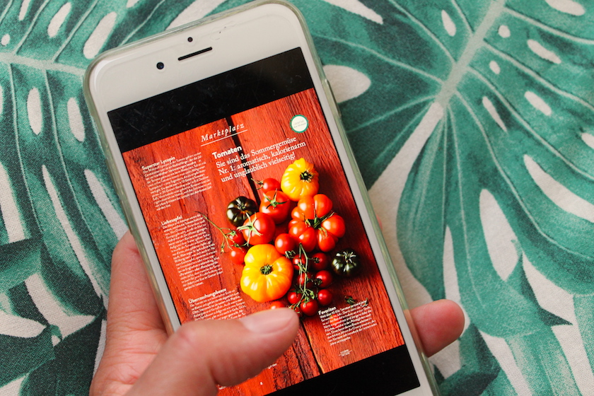 Mit der Readly Magazin-Flatrate kannst du die Zeitschriften auf 5 verschiedenen Geräten lesen