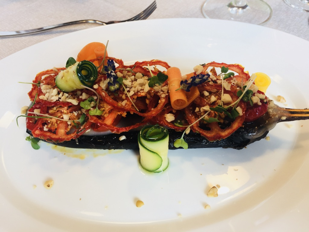 Die Küche im Familienhotel Gorfion in Malbun nimmt spezielle Essenswünsche gerne auf, hier z.B. das vegane Abendessen.